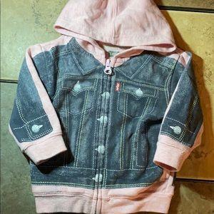 Levi's Sweatshirt to 'Look' Like Jean Jacket